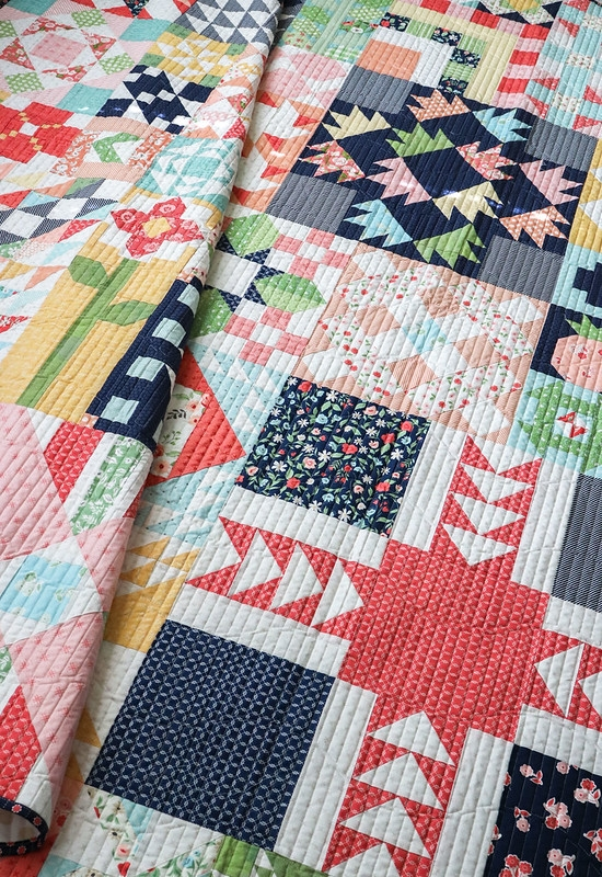 lella boutique Lella Boutique Kaleidoscope Quilt Pattern Free Inspirations