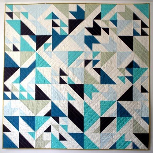 libs elliott seattle modern quilt guild modern quilts Stylish Triangle Modern Quilt Guild