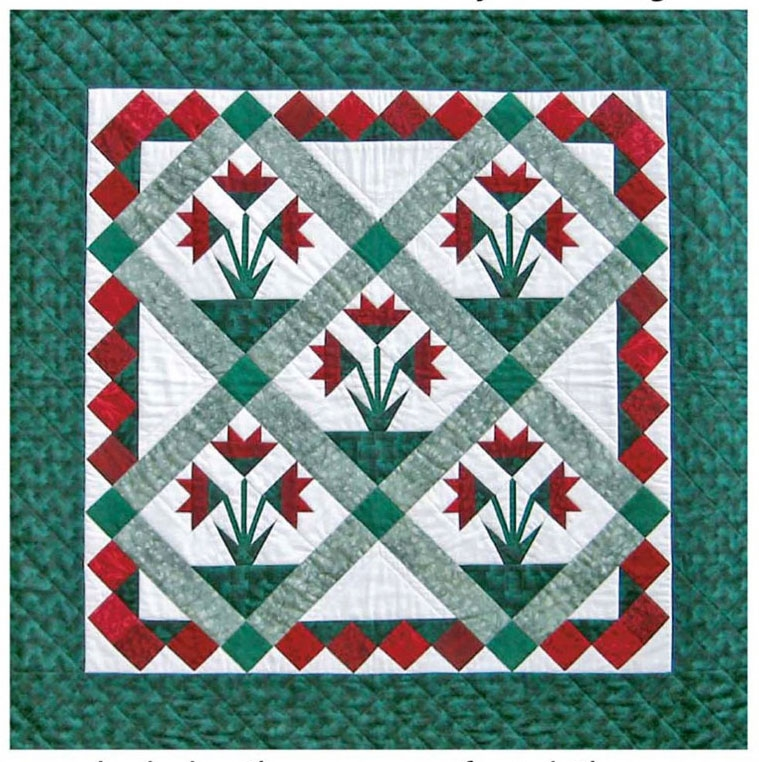 Permalink to Elegant Carolina Lily Quilt Pattern Gallery