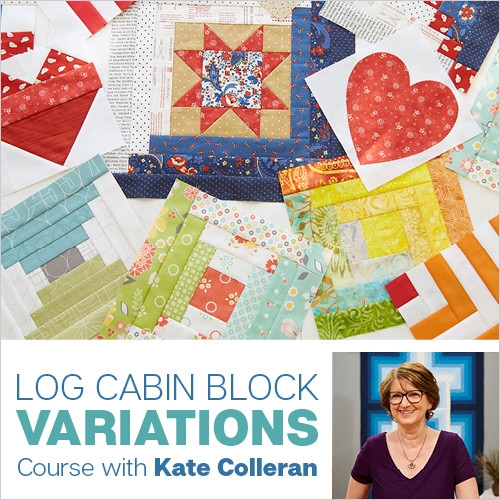 log cabin block variations with kate colleran Unique Log Cabin Quilt Pattern Variations Gallery