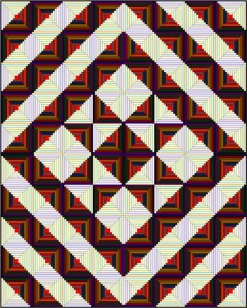 log cabin quilt designs Modern Log Cabin Quilt Patterns Quilt Layouts