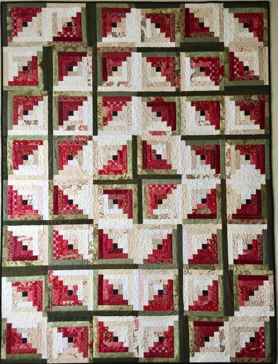 log cabin quilt patterns pdf christmas quilt pattern easy quilt patterns beginner quilt pattern watermelon quilt Modern Log Cabin Quilting Patterns Gallery