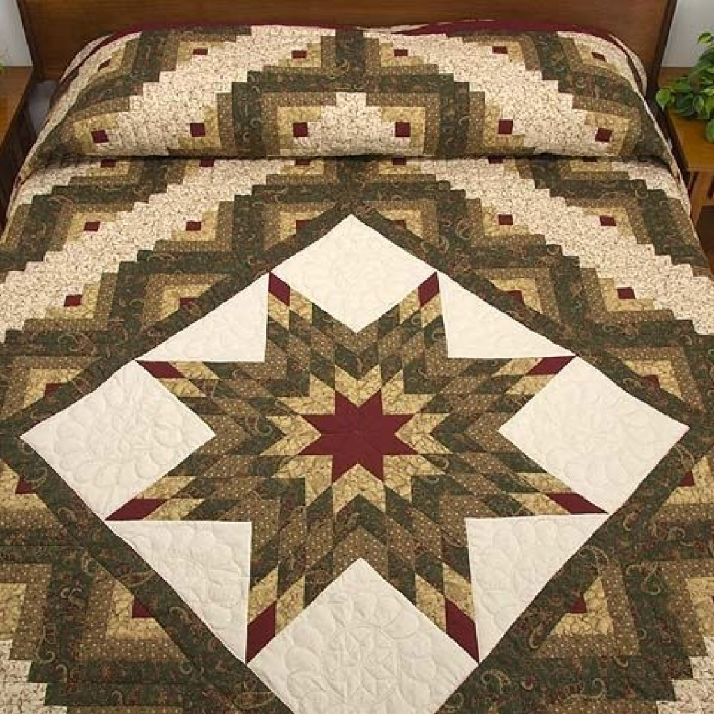 lone star log cabin quilt pattern quilting log cabin Stylish Lone Star Log Cabin Quilt Pattern Free Inspirations