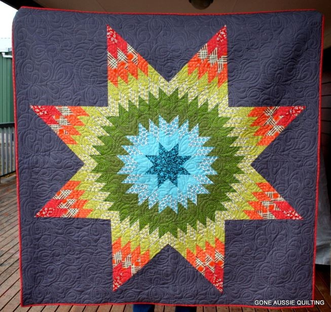 lone star quilts Modern Lone Star Quilt Pattern Free Inspirations