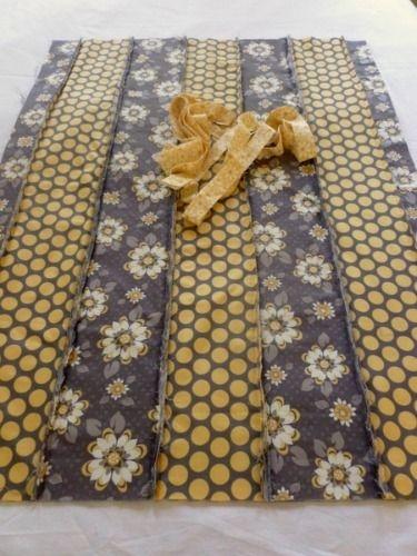 long strip rag quilt instructions cotton rag quilt tutorial Elegant String Pieced Rag Quilt Pattern