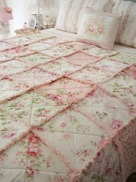 love it love it love it candace shab chic quilts rag Stylish Shabby Chic Quilt Pattern