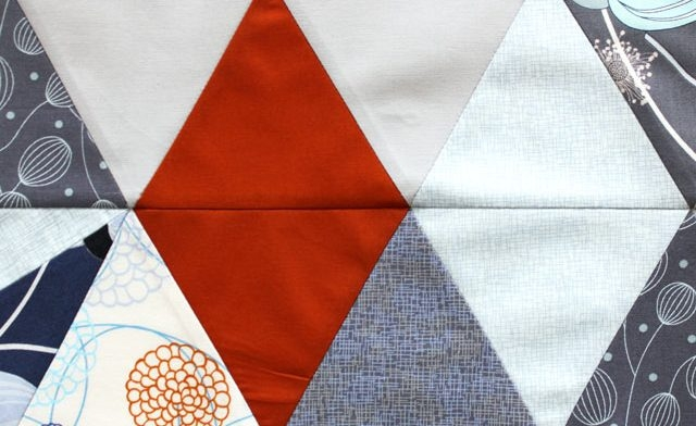 love modern quilts join our traingle quilt along free Cozy Quilt Sense Wonder Triangles Inspirations