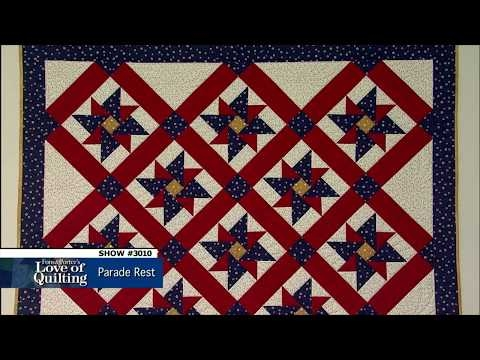love of quilting preview parade rest episode 3010 youtube Unique Fons And Porter Free Quilts Of Valor Patterns Inspirations