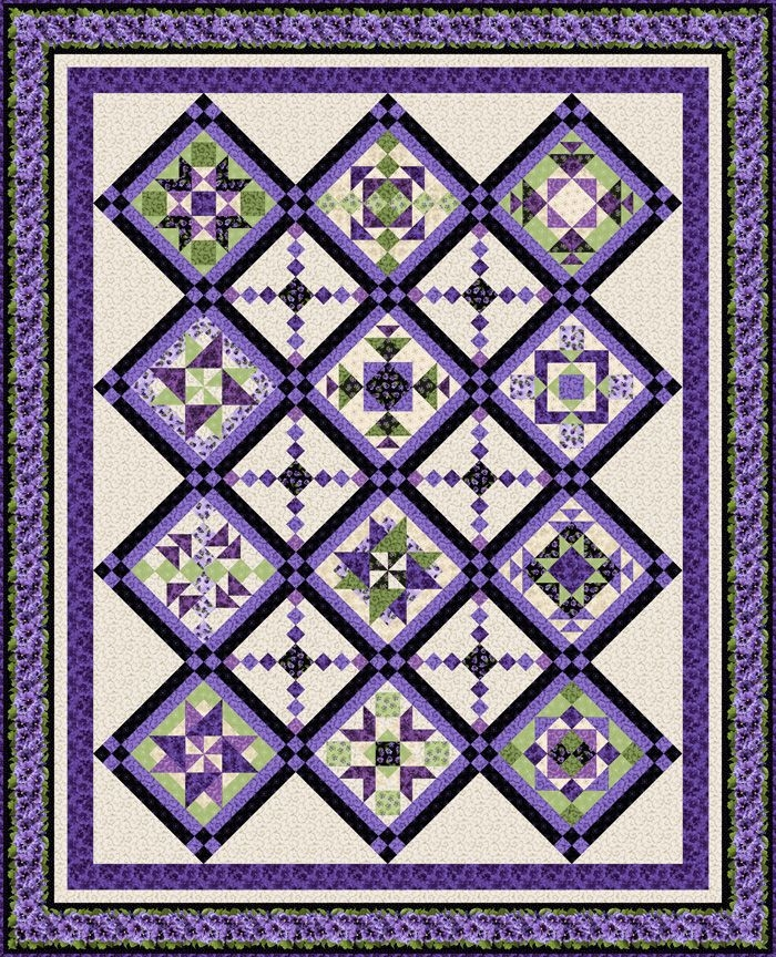lovely in lavender debbie beaves features lovely debbie Cool Debbie Beaves Quilt Patterns Inspirations