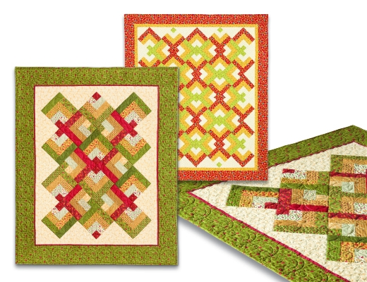 lovers knot quilt 735272010791 quilt in a day books Cozy Quilt Knot Pattern Gallery
