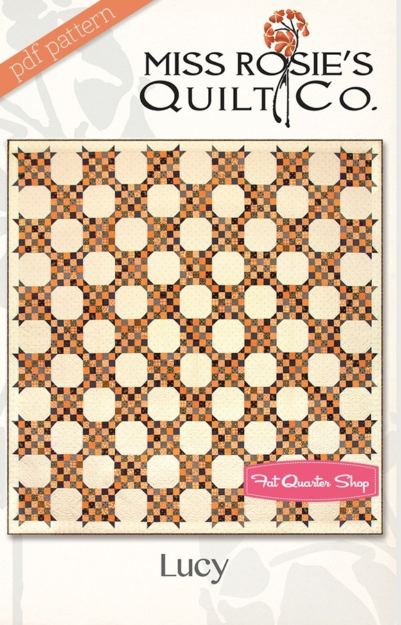 lucy downloadable pdf quilt pattern miss rosies quilt Modern Miss Rosie Quilt Patterns