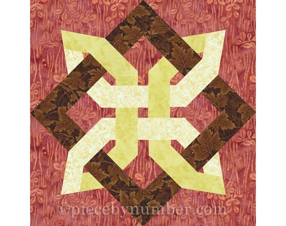lugano clover quilt block paper piecing quilt patterns celtic knot patterns knot quilt foundation piecing Cozy Quilt Knot Pattern Gallery