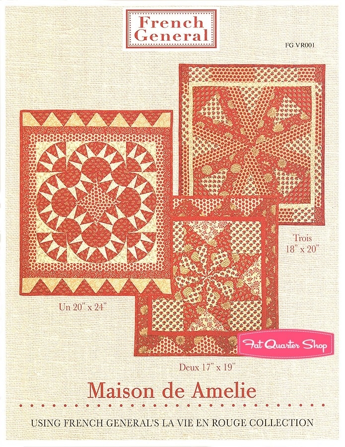 maison de amelie quilt pattern french general patterns fg Modern French General Quilt Pattern Gallery