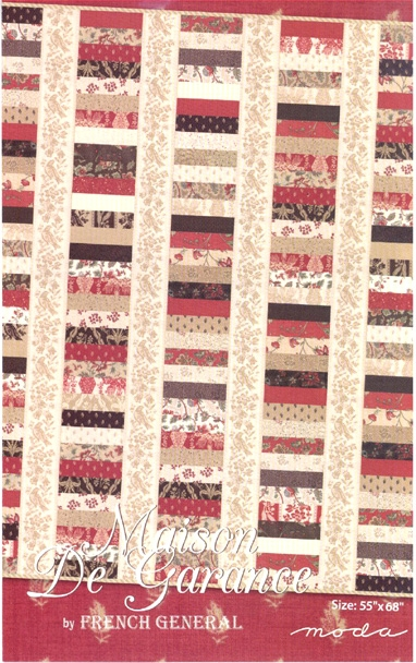 maison de garance quilt pattern french general for moda Cozy French General Quilt Patterns Inspirations