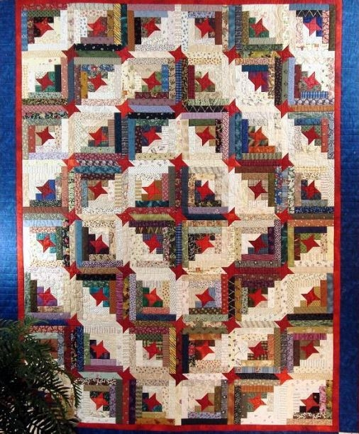 make yourself at home 7 cozy log cabin quilt patterns Log Cabin Variations Quilt Patterns Inspirations
