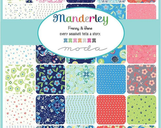 manderley 4 mini charm packs moda fabric candy quilt Modern Cotton Candy Quilts & Sewing Gallery