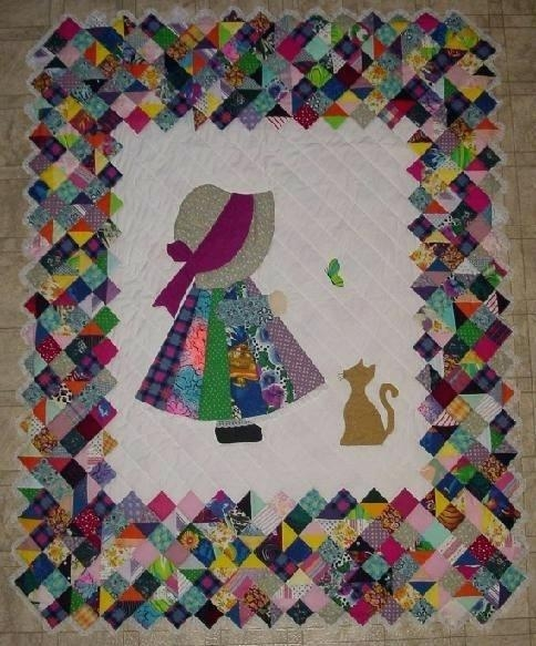 marvelous sun bonnet sue quilt pattern okoklife Stylish Sue Bonnet Quilt Pattern Gallery
