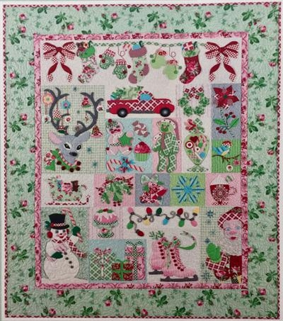 merry bright new the vintage spool Stylish Vintage Spool Quilt Patterns Inspirations