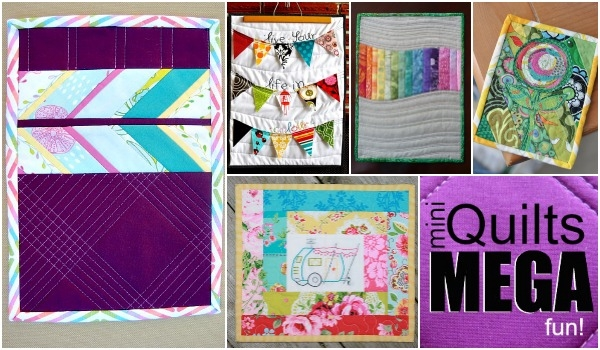 mini quilts helpful sewing tips tricks the sewing loft Tips For Sewing Mini Quilts Gallery