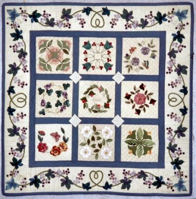 miniature baltimore album quilt quilts applique quilts Baltimore Album Quilt Patterns