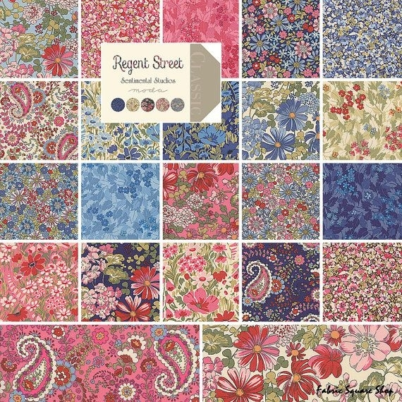 moda regent street layer cake 10 precut fabric Stylish Stylish Precut Quilting Fabric