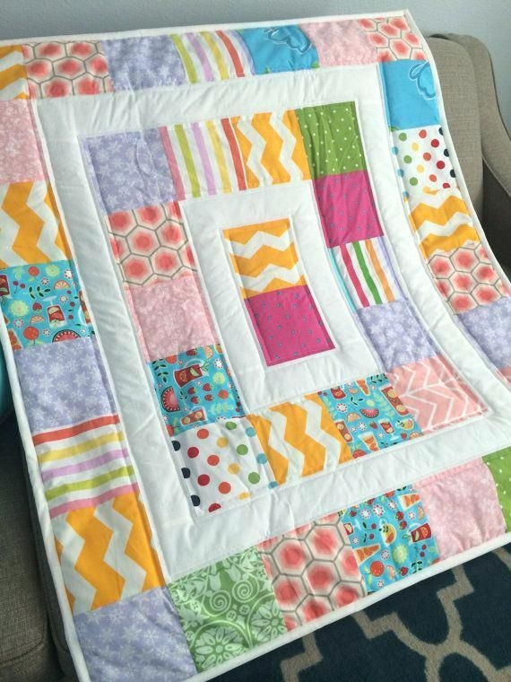 modern ba quilts co nnect quilts boy quilts Stylish Patchwork Cot Quilt Patterns Gallery