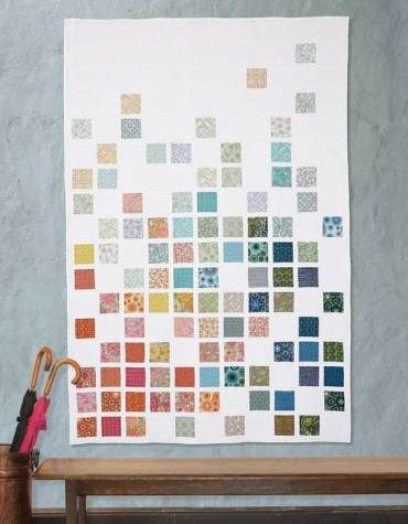 modern quilts illustrated 6 ships today rainbow quilts Cool Contemporary Quilting Patterns