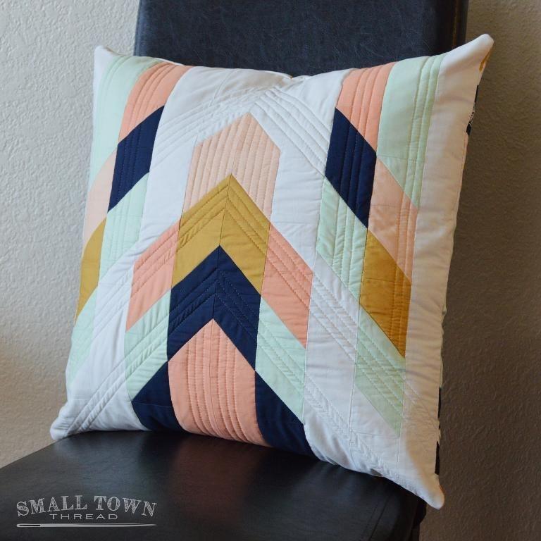 modern tribal pillow pattern sierra stuff patchwork Cool Quilted Pillows Patterns Inspirations