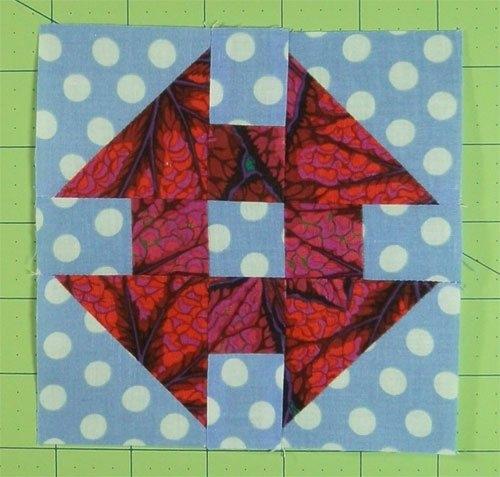 Permalink to Stylish Monkey Wrench Quilt Block Pattern