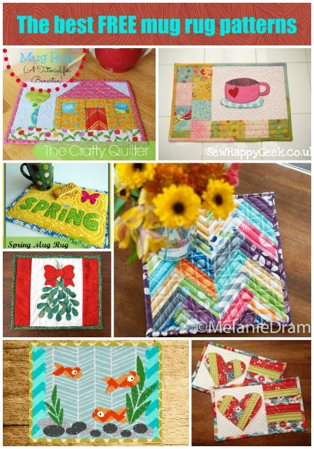 Permalink to Stylish Quilted Mug Rug Patterns Gallery
