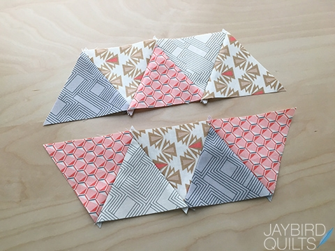 my secrets to piecing 60 degree triangles jaybird quilts Sewing Triangles Together Quilting Inspirations