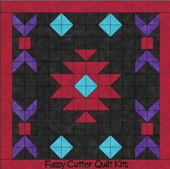 navajo indian southwest design easy to make pre cut fabric Elegant Indian Quilt Patterns