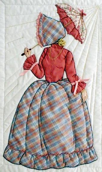 new bonnet girls Cozy Bonnet Girl Quilt Pattern Inspirations