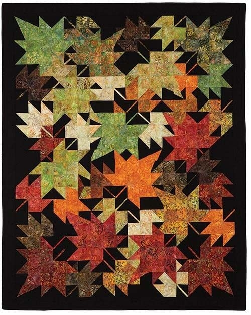 new look 6093 crafting and stiches quilt patterns fall Cool Fall Leaves Quilt Pattern Gallery