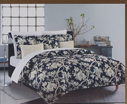 nicole miller king quilt duvet cover set 3 pc floral vines jacobean bohemian 300 Interesting Vintage Quilt Covers Gallery