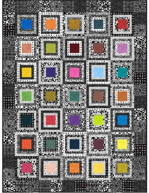 night and day free quilt pattern love to sew Modern Night And Day Quilt Pattern