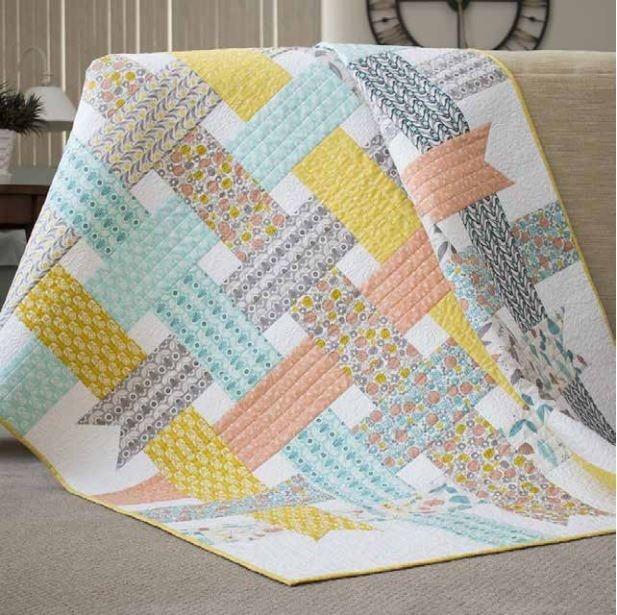 nordic ribbons ba quilt pattern ba quilt patterns Modern Quilting Patterns Modern