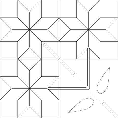 north carolina lily quilt pattern item details Elegant Carolina Lily Quilt Pattern Gallery