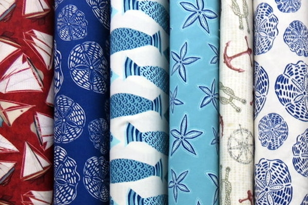novelty fabric shop in ct 1000s bolts of themed quilting Cool Beach Fabric For Quilting