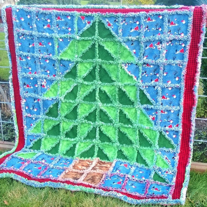 oh christmas tree rag quilt pattern Christmas Tree Rag Quilt Pattern Gallery