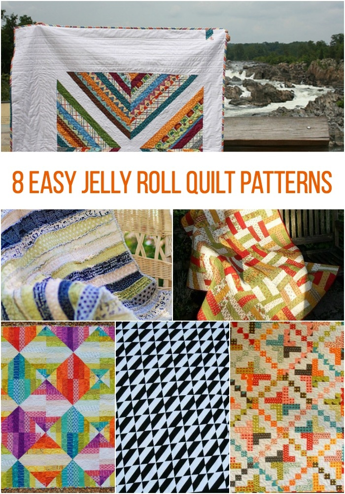 on a roll 8 easy jelly roll quilt patterns Stylish Easy Jelly Roll Quilt Patterns