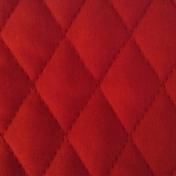 one half yard of double sided pre quilted fabric material christmas red Modern Lovely Pre Quilted Double Sided Fabric Gallery