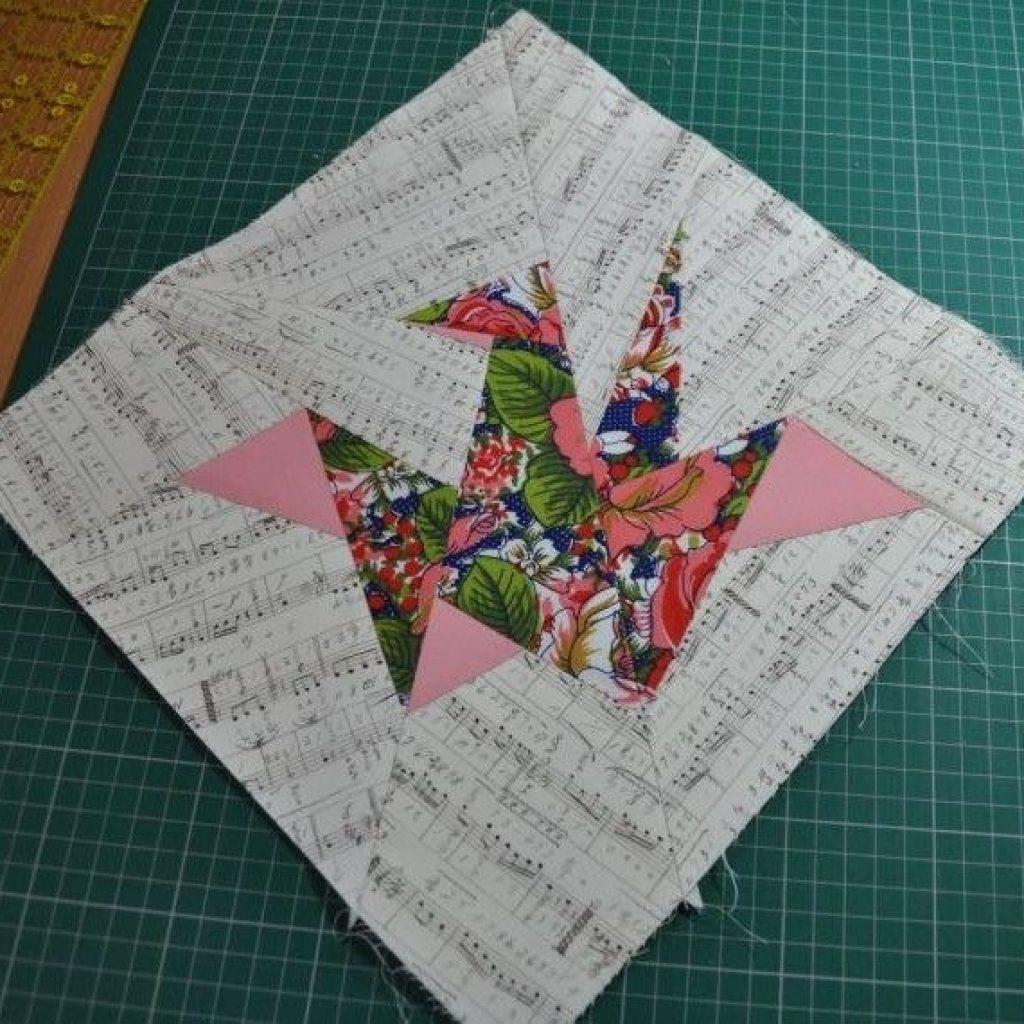origami crane paper piecing pattern tutorial paper Unique Origami Crane Quilt Pattern Gallery