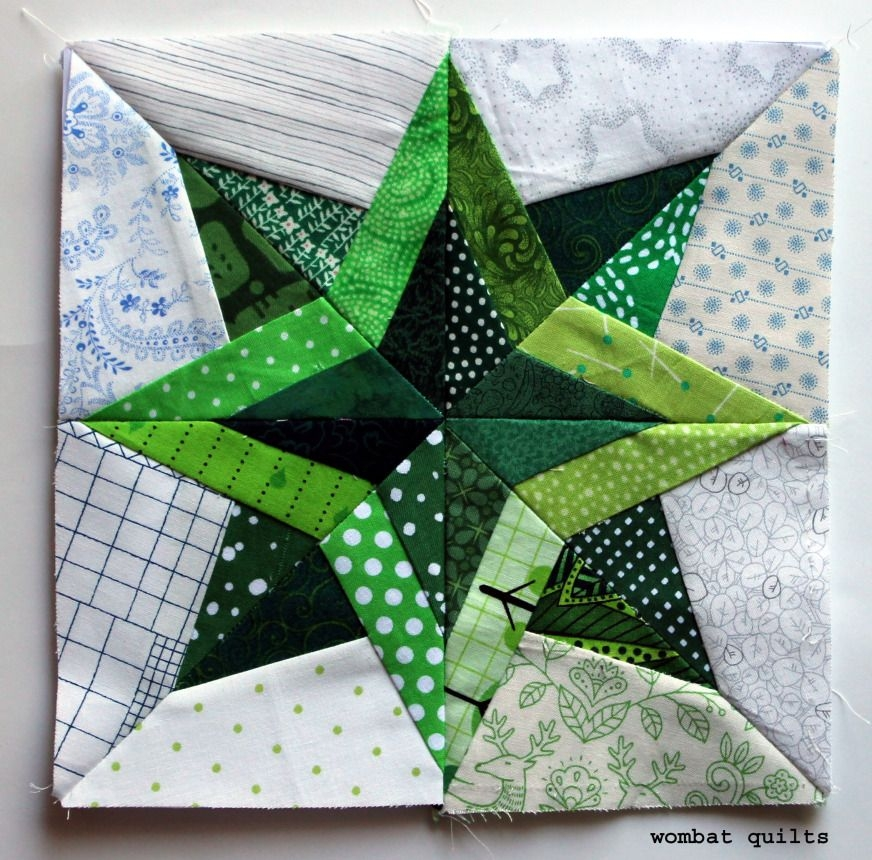 outlined star great quilt blocks and borders paper Unique Free Wombat Quilt Block Patterns Inspirations