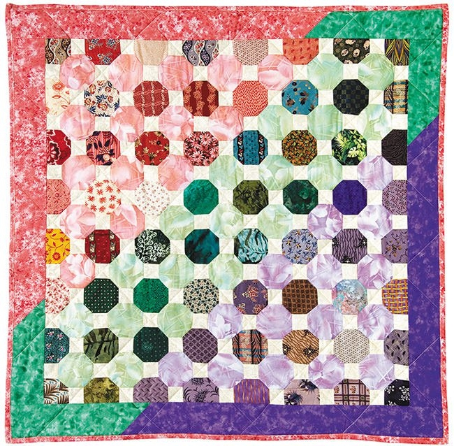 ozark cobblestone come quilt with me Interesting Cobblestone Quilt Pattern