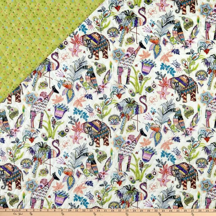 paintbrush studio fabrics ubuntu pre quilted multicolored Unique Fabri Quilt Pre Quilted Fabric