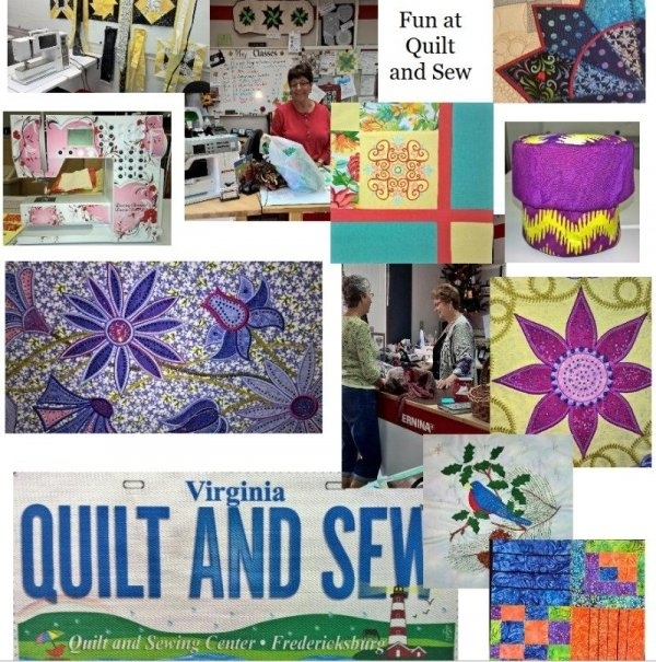pat sloan bom block 3 poky little puppy quilt and sewing Elegant Quilt And Sewing Center Fredericksburg Va