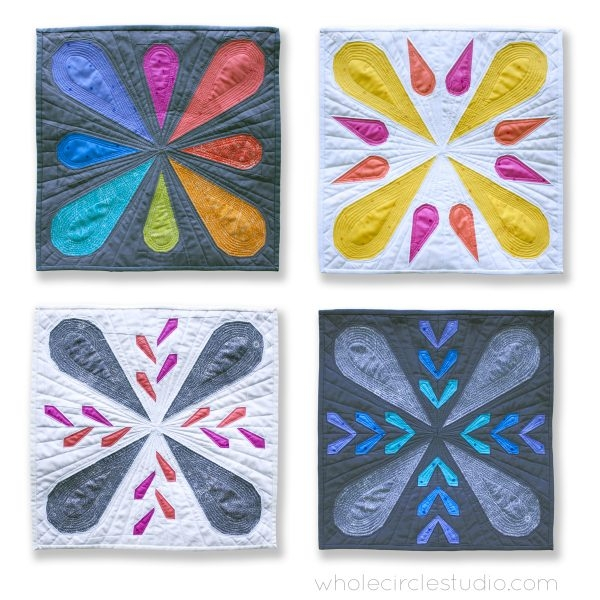 patchwork petals quilt blocks pattern pdf download Stylish Modern Quilt Ideas Gallery