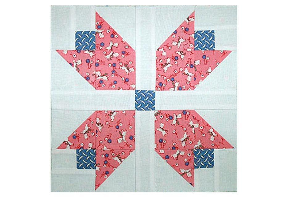 patchwork tulips quilt block pattern Modern Patchwork Quilt Blocks Patterns Inspirations