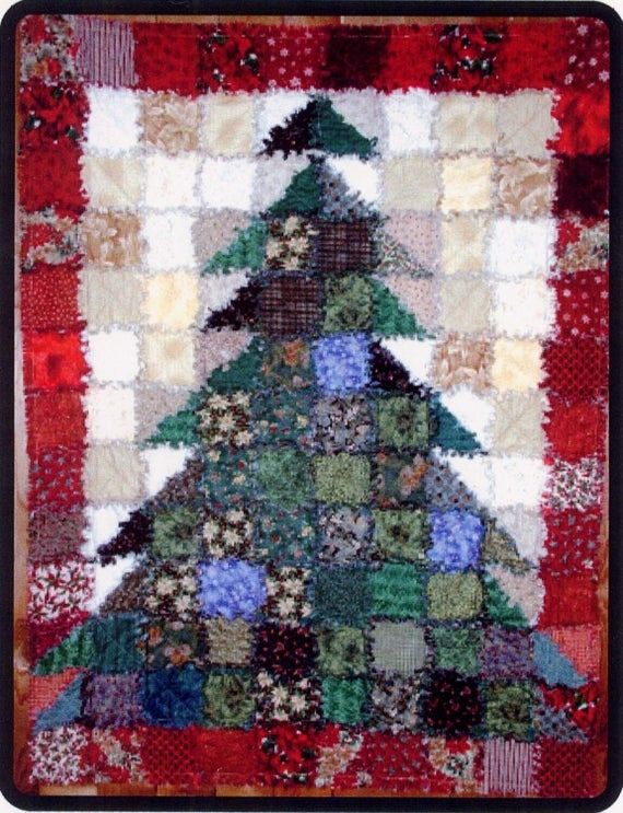pattern oh christmas tree rag quilt Christmas Tree Rag Quilt Pattern Gallery